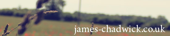 James-chadwick.co.uk header